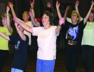 Older social dance group