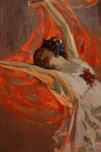 Anna Pavlova painting