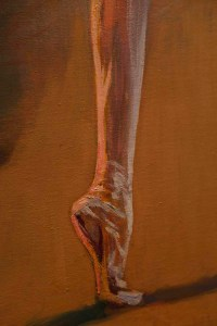 Anna Pavlova foot