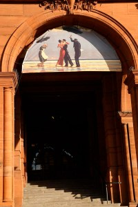 Kelvingrove entrance Jack Vettriano exhibition web